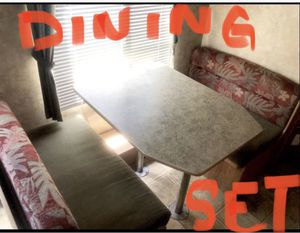 RV Trailer Furniture Dining Set and Couch/Bed 🎉OBO🎉 for Sale in Oceanside, CA