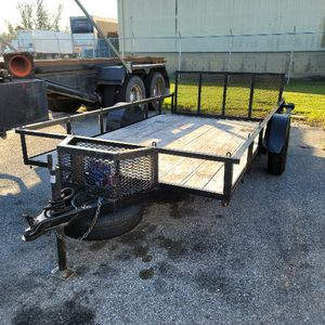 6.5 X 12 Dove Tail Trailer for Sale in Lehigh Acres, FL