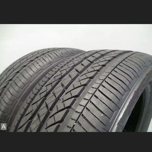 Pair Bridgestone Dueler H/P Sport AS RSC 245 50 19 w/ 90% Tread 9/32 105H #7124 for Sale in Miami, FL