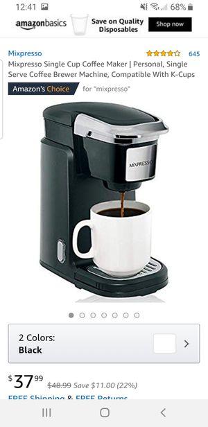 Mixpresso single serve coffee maker 25.00 for Sale in Henderson, NV