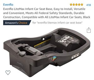 Evenflo LiteMax infant car seat base for Sale in Kentwood, MI