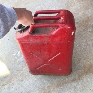 5 Gallon Gas Tank for Sale in Fresno, CA