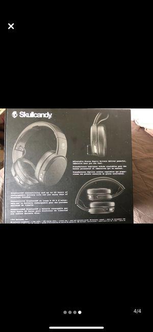 Skull candy wireless headphones for Sale in Dedham, MA