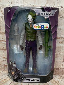 "DC Mattel Batman The Joker Dark Knight 10"" Action Figure with Bazooka New for Sale in Ridgefield,  WA"