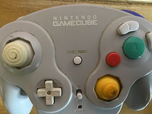 Before and after pics ! 👍Original GameCube wive bird controller! Clean and working condition ! for Sale in Phoenix, AZ