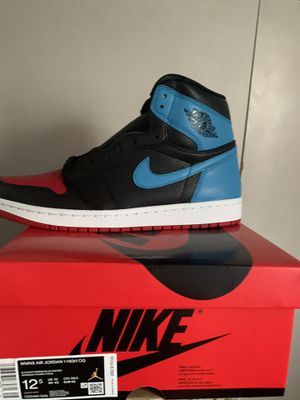 """AIR JORDAN RETRO 1 """"NC TO CHI"""" size 11 (12.5 women ) for Sale in Los Angeles, CA"""