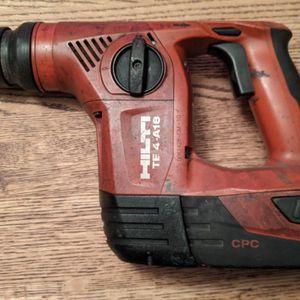 Hilti Hammer Drill TE4-A18 for Sale in San Francisco, CA