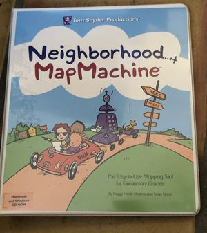 Educational Tom Snyder Productions Neighborhood Map Machine for Sale in Mesa, AZ