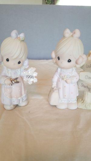 2 Precious Moments Figurines. for Sale in undefined