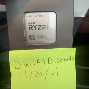 Ryzen 5950x 16 Core Ultimate Gaming Processor for Sale in San Diego, CA