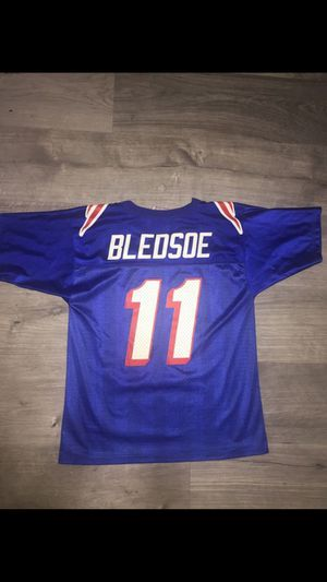 Vintage Youth Drew Bledsoe New England Patriots NFL Jersey for Sale in Fresno, CA