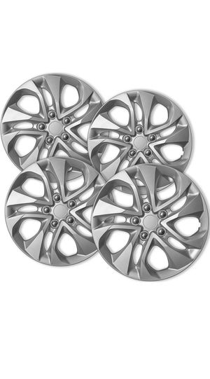 Hubcaps fits 14-15 Honda Civic - 16 Inch Silver Replacement Wheel Cover Rim Replaces OEM Factory Part for Sale in Freeport, NY