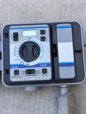 Irritrol Rain Dial - RD-600 Irrigation Controller for Sale in Los Angeles, CA