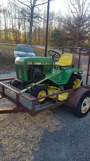 316 John Deer for Sale in Creedmoor, NC