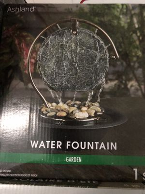 *Brand New* Beautiful Ashland water fountain! For indoor use only. for Sale in Los Angeles, CA