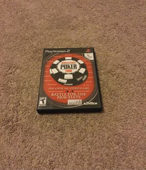 PlayStation2 World Series of Poker 2008 for Sale in Quincy, IL