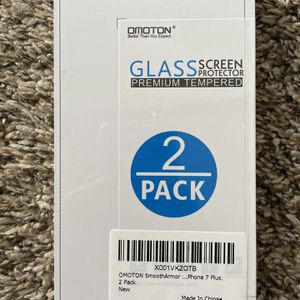 Omoton Glass Screen Protector iPhone 7 Plus for Sale in Denver, CO