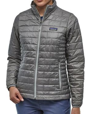 Women's Patagonia Nano Puff Insulated Hoody. Feather Grey Size Medium for Sale in Anaheim, CA