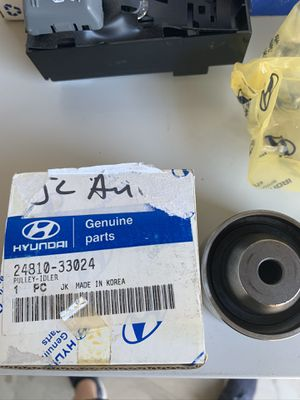Hyundai new genuine Elantra idler pulley Elantra sonata 24810-33024 2481033024 for Sale in Artesia, CA