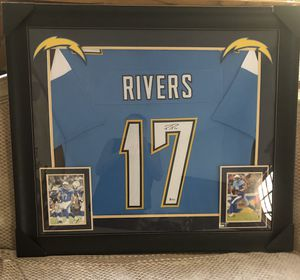 LOS ÁNGELES OFFICIAL PHILIP RIVERS ORIGINAL SIGN JERSEY for Sale in Arcadia, CA