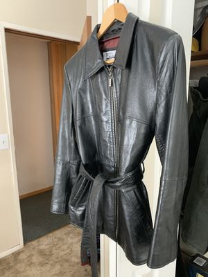 Small size Wilson leather coat for Sale in Wenatchee, WA