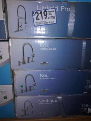 Kohler kitchen faucets BRAND NEW!! for Sale in Durham, NC