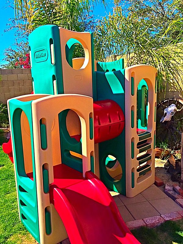 Little Tikes Climbing Towers Playground With 2 Slides Amp Tunnel Playset For Sale In Glendale Az