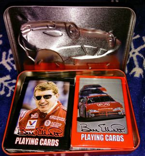 Bill Elliott Playing Cards In A Collectible Metal Case for Sale in Brevard, NC