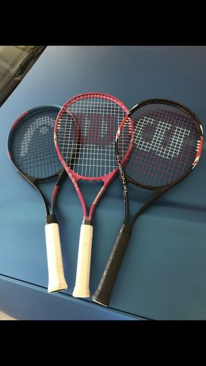 Tennis rackets for Sale in San Clemente, CA