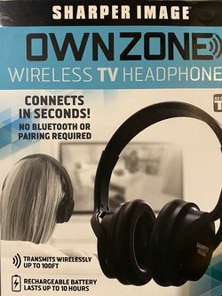 Shaper Image Own zone Wireless TV Headphone for Sale in Mountain View,  CA