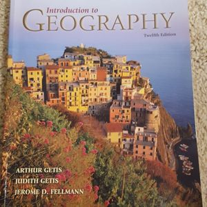 Introduction to Geography 12th ed by Arthur Getis required book for GEO101 SCC for Sale in Lynnwood, WA