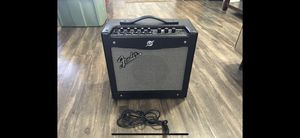 Amplifier Guitar Amp Fender Mustang I V2, Combo 1x8 inch 20-watt electric music amplifier for Sale in Imperial Beach, CA