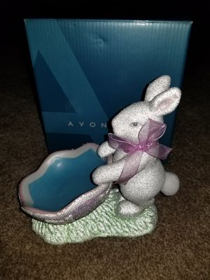 Avon Easter Bunny Enchantment candy Dish for Sale in Lake Alfred, FL