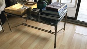 Antique green Marble coffee table for Sale in Miami, FL
