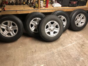JEEP Michelin wheels LT225/75R16 for Sale in Silver Spring, MD