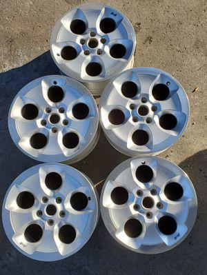 Jeep wrangler 18 x 7.5 factory wheels for Sale in Mesa, AZ