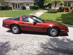 1987 Chevy corvette. (30,000 miles ) one owner for Sale in Clearwater, FL