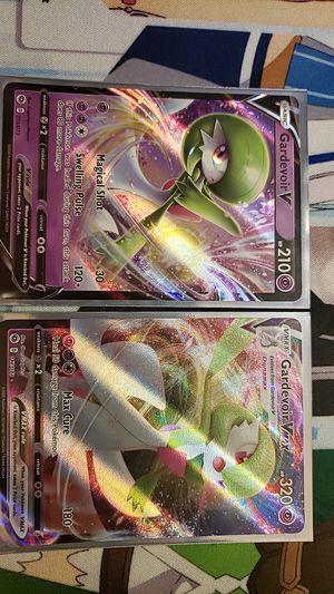 Pokemon Gardevoir V & Gardevoir Vmax for Sale in Pittsburgh, PA