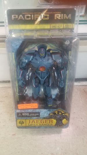 "JAEGER GIPSY DANGER (MARK 3) PACIFIC RIM 7"" INCH MOVIE FIGURE SERIES 1 NECA 2013 for Sale for sale  Leander, TX"