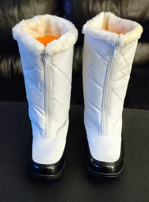 Boots-White Waterproof Snow Boots size 8 for Sale in TN OF TONA, NY