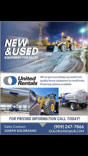 HEAVY EQUIPMENT FOR SALE for Sale in Pomona, CA