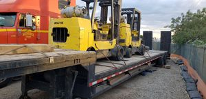 2 forklifts and trailer 12,000 lbs. for Sale in La Verne, CA