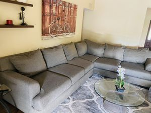 Sofa sectional (only the sofa) color gray for Sale in Scottsdale, AZ
