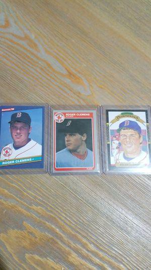 Baseball card- roger clemons rookie +2 others for Sale in Roseburg, OR