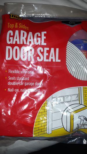 Garage door seal flexible vinyl seal for Sale in Tacoma, WA
