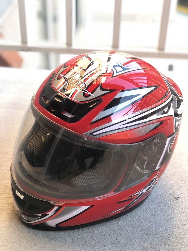 Brand new custom, full face helmet