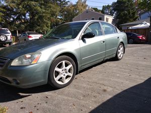 02 Nissan Altima 3.5 SE 197k miles original owner. Runs great! No issues, everything works power seats, windows, and sunroof! for Sale in Redwood City, CA
