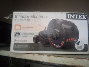 Intex inflator for air mattress or any type or air bed have all the connections brand new for Sale in Killeen, TX