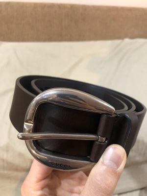 Men's Gucci Belt with Laser Cut Design for Sale in Las Vegas, NV