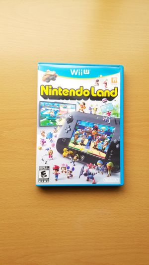 Nintendo Land Wii U for Sale in Temple City, CA
